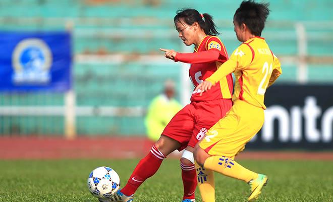 Lượt 2 giải VĐQG nữ - Thái Sơn Bắc 2015: TP.HCM vươn lên ngôi đầu