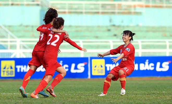 Giải bóng đá nữ VĐQG - Thái Sơn Bắc 2015 : Phong Phú Hà Nam đã biết thắng