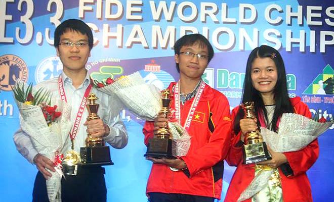 Nhìn lại sự kiện Việt Nam giành trọn 3 suất dự World Cup cờ vua 2015: Chiến công tuyệt vời