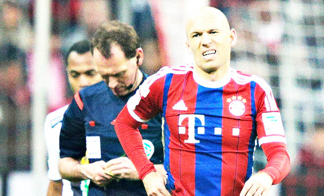 Bayern Munich: Thua là chuyện nhỏ, mất Robben mới là thảm họa