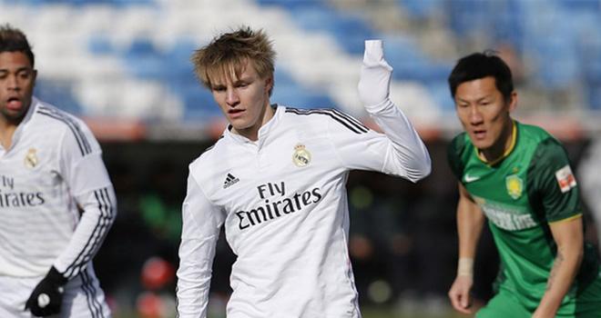 Từ chối tập với đội dự bị, sao trẻ Odegaard đối mặt với hình phạt từ Zidane