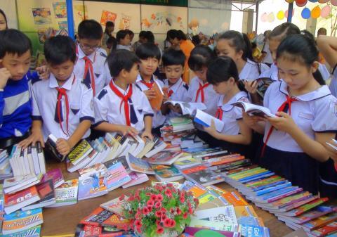 Ngày hội 'Sách - sự giao thoa văn hóa' tại Thư viện Quốc gia