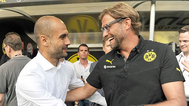 Man City chờ Guardiola chứ không phải Klopp