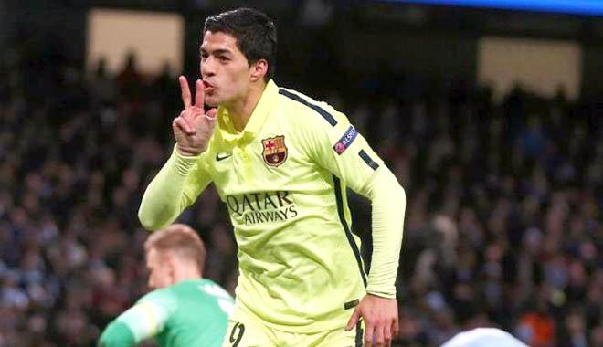 Barca cần Suarez để vô địch Champions League