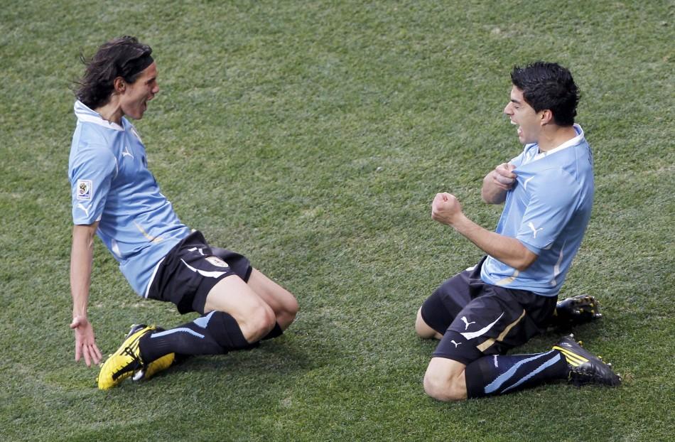 Suarez và Cavani làm rạng danh bóng đá Uruguay ở châu Âu