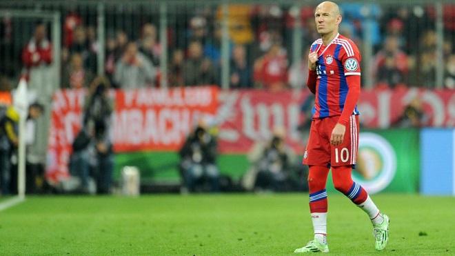 Cú sốc cho Bayern Munich: Arjen Robben nghỉ hết mùa