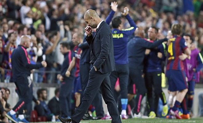 'Pep Guardiola là nguyên nhân khiến Bayern Munich tụt lùi'