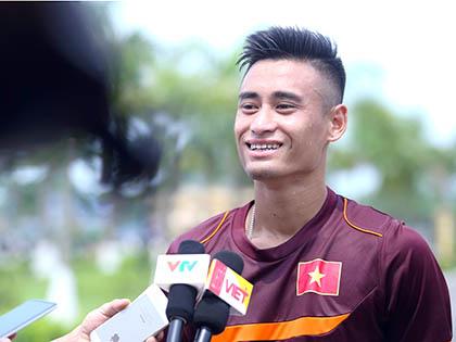 Tiền vệ Vũ Minh Tuấn: 'Nếu được chọn làm đội trưởng tôi sẽ không nhận'