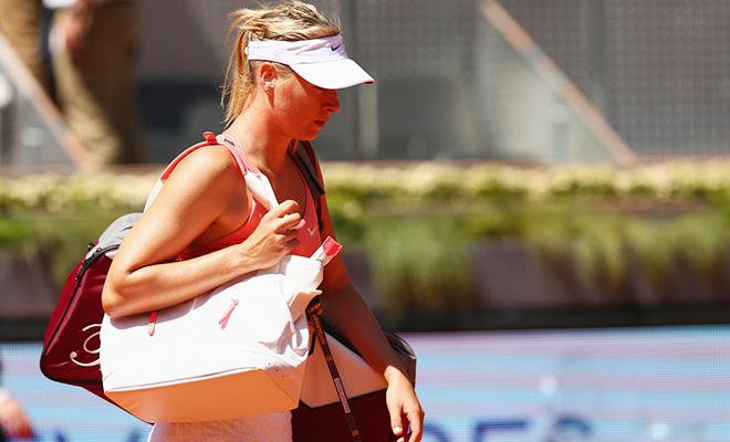 Madrid Open: Sharapova và Serena bất ngờ bị đánh bại ở Bán kết
