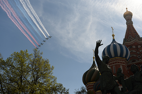 Kỷ niệm 70 năm chiến thắng phát xít: TOÀN CẢNH sức mạnh Nga tại Lễ duyệt binh trên Quảng trường Đỏ