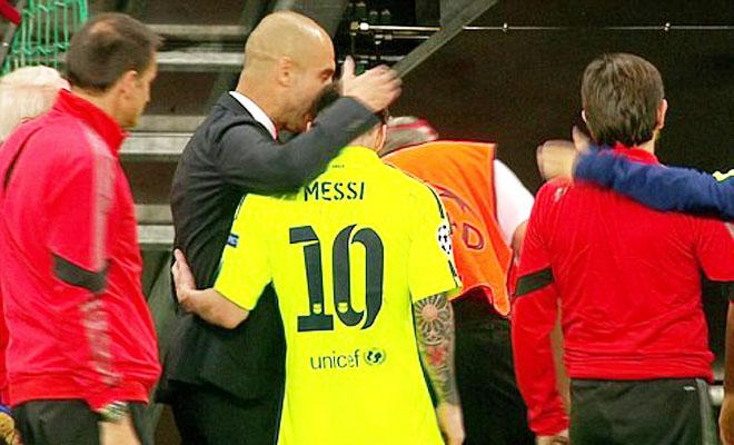TRANH CÃI: Vì tình nghĩa với Guardiola, Barca và Messi đã buông thả ở hiệp 2?