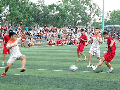 Sức hút của giải bóng đá phong trào hạng Nhất Nghệ An 2015