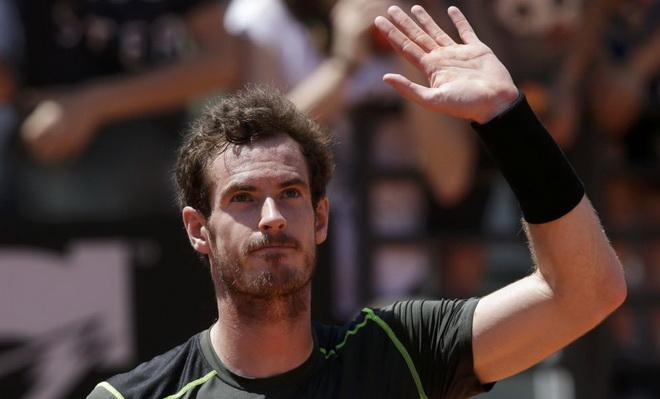 CẠP NHẬT tin tối 14/5: Murray rút lui, Nadal vào tứ kết Rome Masters. 'Barca của Luis Enrique mạnh hơn Barca của Guardiola'