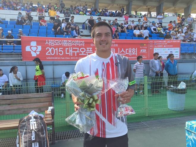 Tay vợt gốc Việt Daniel Nguyễn có danh hiệu đầu tiên trong năm 2015