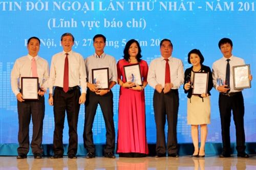 Giải thưởng thông tin đối ngoại toàn quốc: Bản tin nhạc rap Biển Đông đoạt giải Nhất