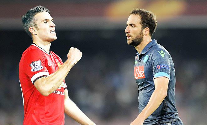Chuyển nhượng Man United: Mua Higuain, bán Van Persie?