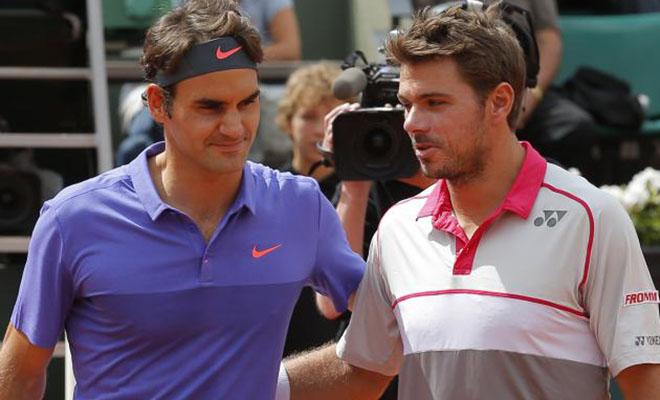 Federer nói gì khi bị loại ở Roland Garros 2015 trước Wawrinka?