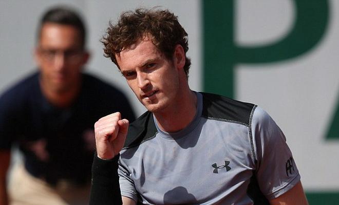 Roland Garros 2015: Vượt qua Ferrer, Murray tuyên bố sẽ đánh bại Djokovic