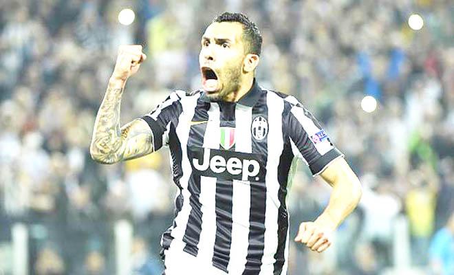 Vũ khí của Juventus: Dựng tóc gáy với 'Quỷ lùn Tevez'