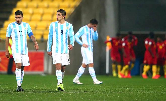 Giải vô địch U20 thế giới 2015: Thất vọng đàn em của Messi, Aguero