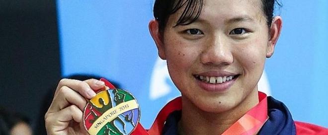 Báo Singapore viết về Ánh Viên: 'Xong 7 HCV, nhắm thêm 2 tấm, hướng về Olympic'