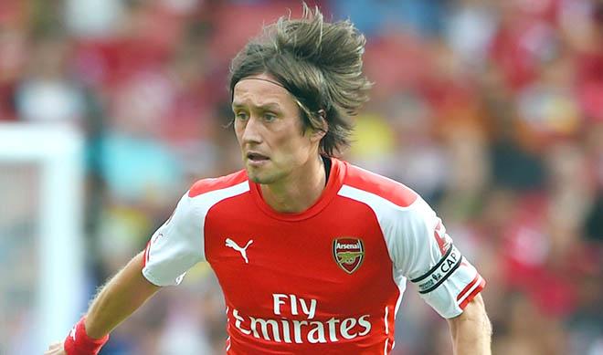 Arsenal: Hãy giải thoát cho Rosicky...