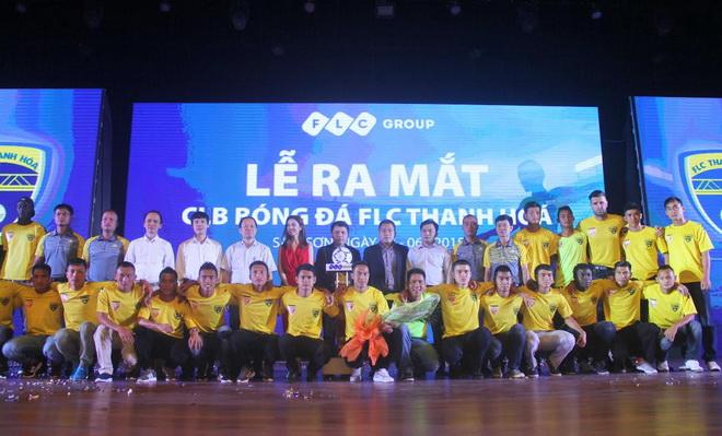 FLC Thanh Hóa ra mắt, đạt thứ hạng cao tại V.League 2015