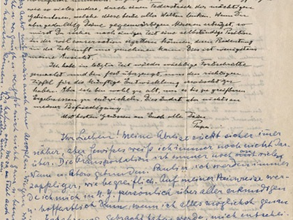 Đấu giá những bức thư có giá 40.000 USD của Albert Einstein
