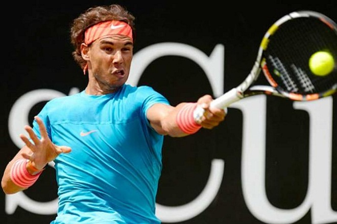 Nadal đánh bại Gael Monfils ở Mercedes Cup