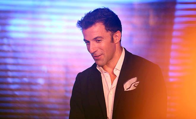 Del Piero: 'Là người Italy, tôi tự hào khi bắt gặp chiếc Vespa'