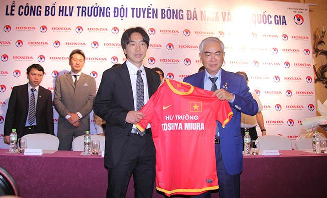 Chủ tịch VFF Lê Hùng Dũng: 'Chúng tôi sẽ kiên nhẫn với HLV Miura'