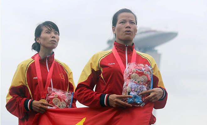 Rowing Việt Nam hoàn thành gấp đôi chỉ tiêu HCV: Khổ luyện và thuyền xịn