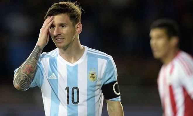 Vì sao Messi không nhận giải Cầu thủ hay nhất trận Argentina - Paraguay?