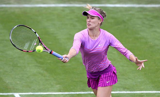 Hiện tượng Eugenie Bouchard quyết đứng dậy ngay ở Wimbledon