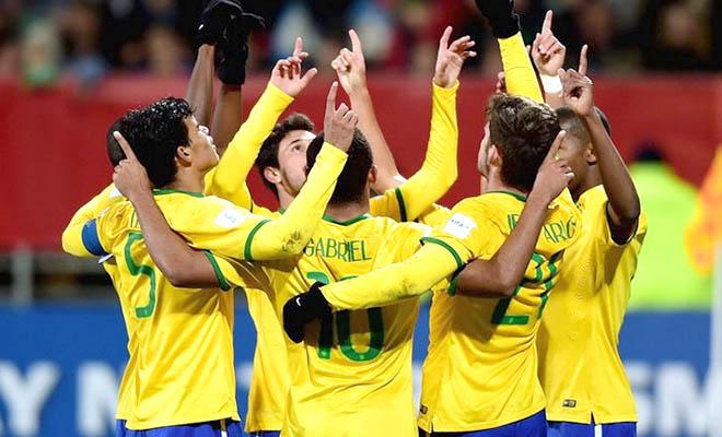 Giải vô địch U20 thế giới 2015: U20 Brazil trước ngưỡng kỷ lục