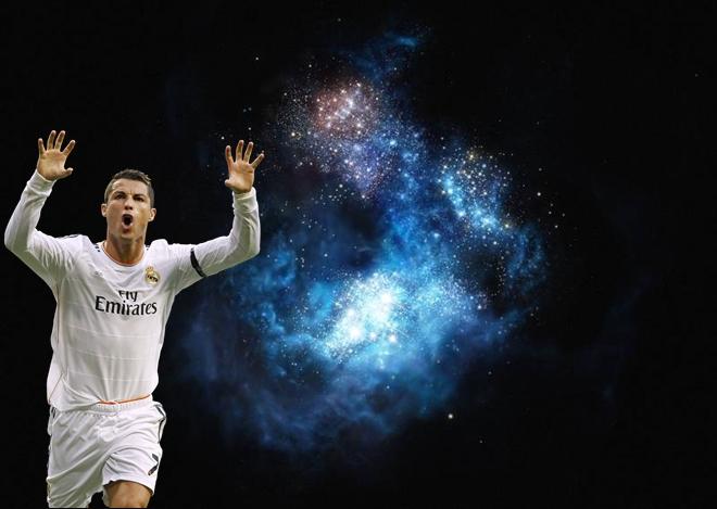 Nhà thiên văn học đặt tên Cristiano Ronaldo cho một thiên hà mới