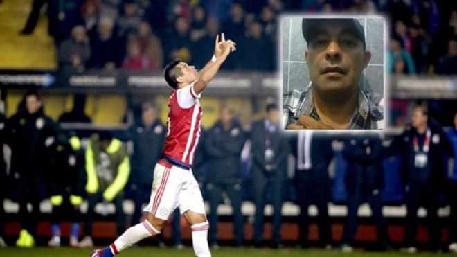 Chú ruột qua đời sau khi cháu ghi bàn loại Brazil ở Copa America 20145