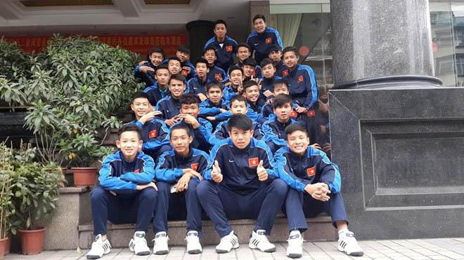 U15 Việt Nam tham dự giải giao hữu quốc tế Nhật Bản - Mekong 2015