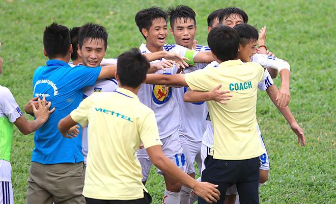 Vòng chung kết U17 QG 2015: Viettel và Quảng Ngãi vào bán kết