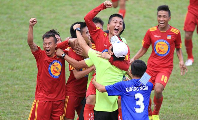 VCK U17 quốc gia 2015: Lạ lùng U17 Quảng Ngãi