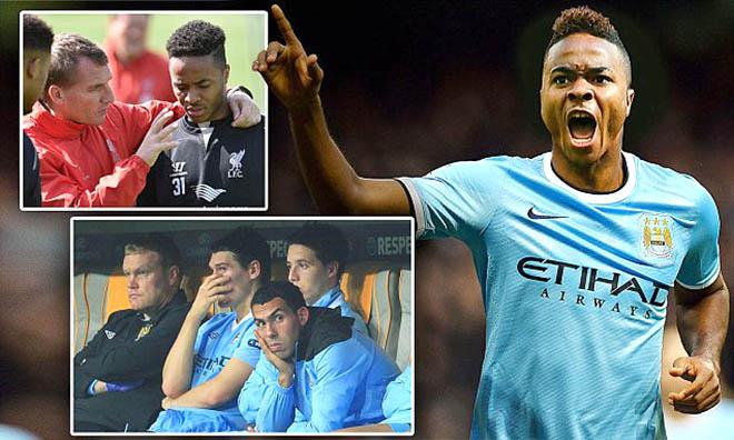 Sterling sẽ thành Carlos Tevez mới ở Man City?