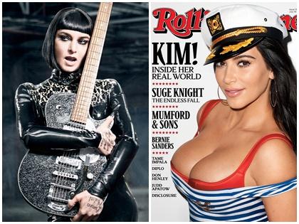 Ảnh bìa Kim Kardashian hở ngực khiến Rolling Stone bị tẩy chay