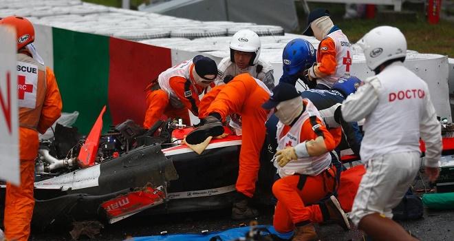 Nhìn từ vụ Bianchi tử nạn: Đường đua F1 đầy rẫy những hiểm nguy