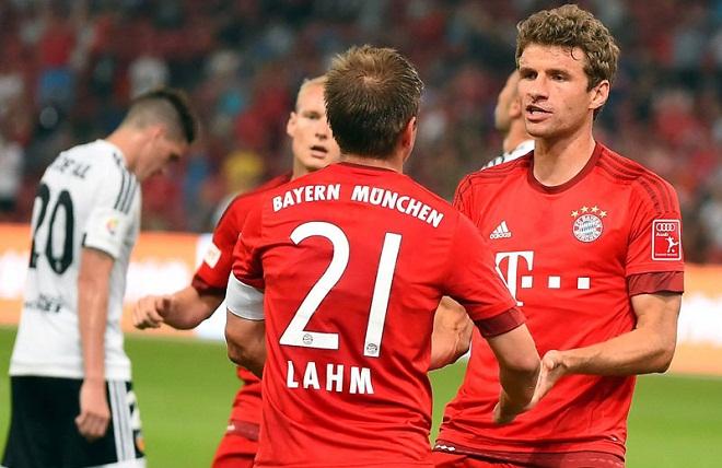 Philipp Lahm thừa nhận Thomas Mueller có thể đến Man United
