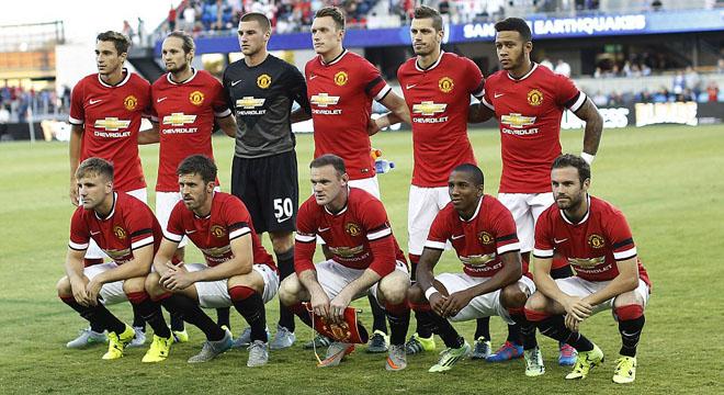 Trận Man United – San Jose Earthquakes: De Gea chắc chắn đến Real Madrid? Depay biết đá tiền đạo