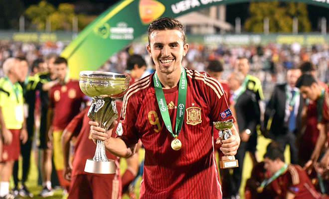 Borja Mayoral: 'Số 9' tương lai của Real