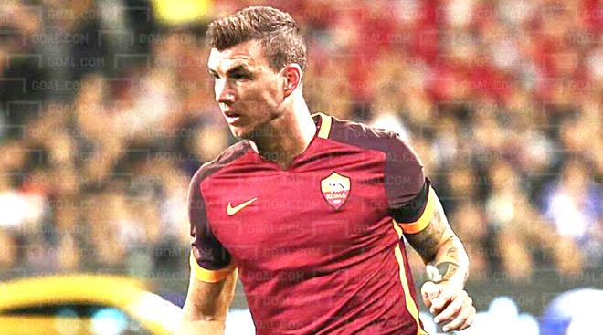 AS Roma: Dzeko là Batistuta mới?