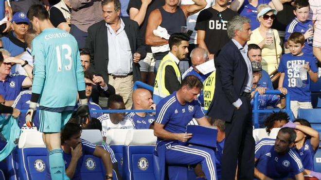 Mourinho mềm tính một cách bất ngờ dù Chelsea hòa thất vọng trận ra quân