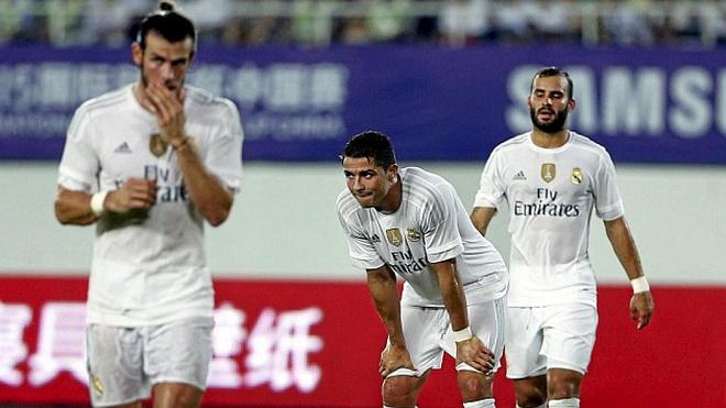 Sau 4 năm, Real Madrid mới trải qua hai trận liên tiếp 'tịt ngòi'