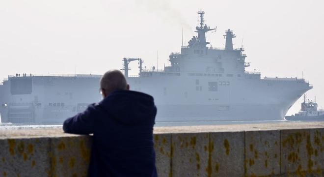 Thương vụ tàu Mistral: Pháp sắp công bố tổng số tiền bồi thường Nga
